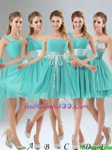 2016 A Line Ruching Lace Up Military Ball Gowns in Aqua Blue