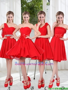 2016 The Brand New Style Military Ball Gowns Chiffon Ruching with A Line