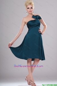 Elegant Short Strapless Celebrity Dresses with Ruching