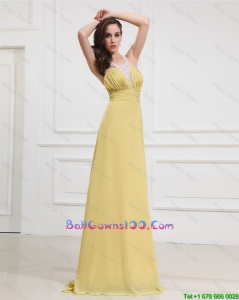 New Style Sequins and Beading Long Military Ball Gowns for Graduation