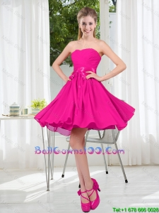 Custom Made Sweetheart Short Ball Gowns Dress with Bowknot