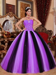 Lace-up Multi-colored Long Plus Size Formal Dresses with Beadings