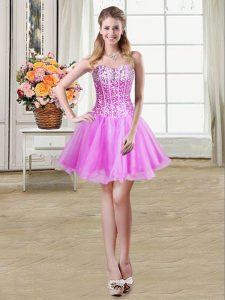 New Arrival Sweetheart Sleeveless Organza Military Ball Dresses For Women Sequins Lace Up