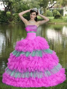 Strapless Florida Cheap Multi-color Military Ball Gown with Beading